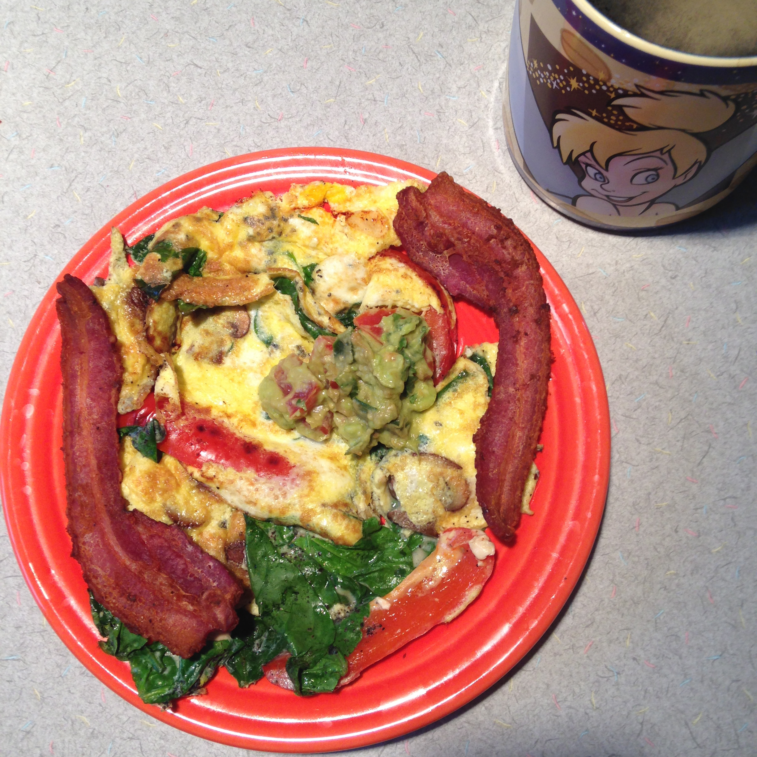 Low carb Atkins breakfast meal