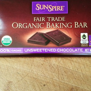 Unsweetened Organic Chocolate Low Carb